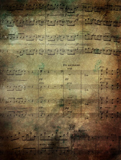 Free Texture Tuesday: Grunge Music