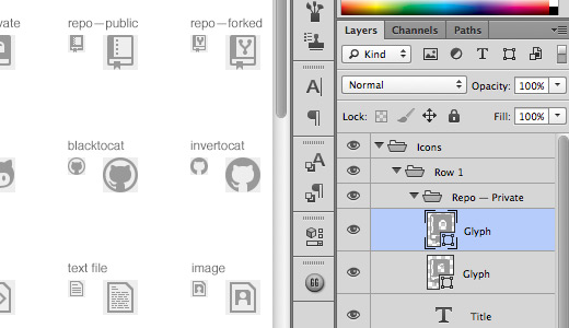 featured ps icon vectors