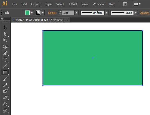 draw a shape illustrator