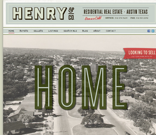 henry and company real estate website