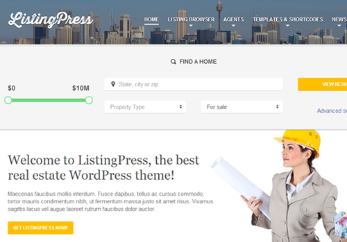 listingpress premium wordpress theme