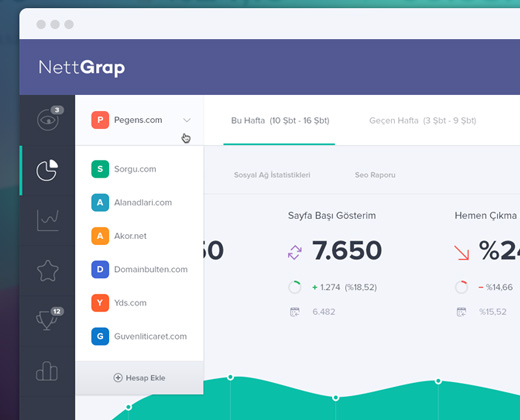 Nettrap Dashboard Ui Interface Design