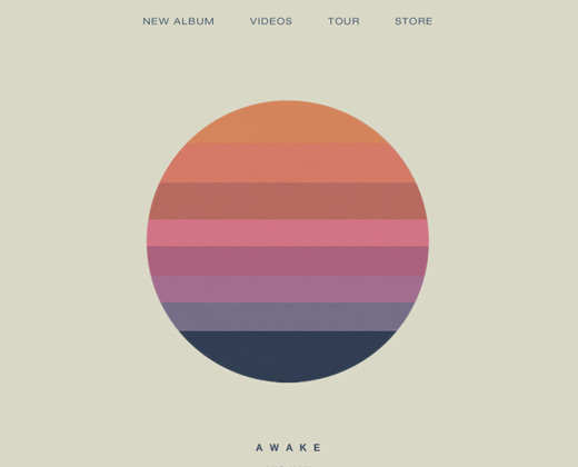 tycho band simple website