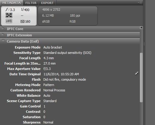 camera exif data editing howto