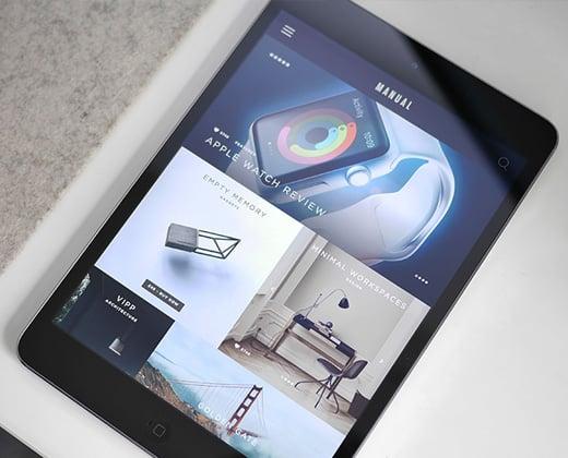 manual digital touch ipad app