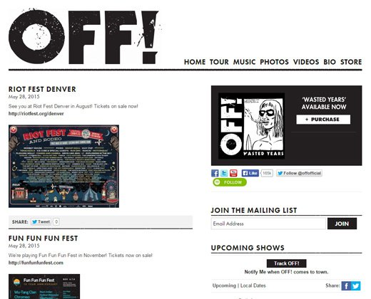 off band official website