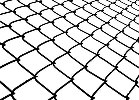 chain link fence vector. Chain Link Fence Vector Y
