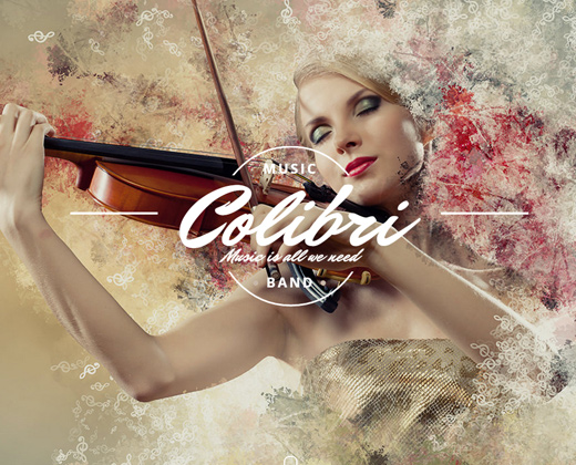 colibri wordpress theme musicians