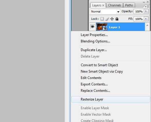 convert rasterize layer context