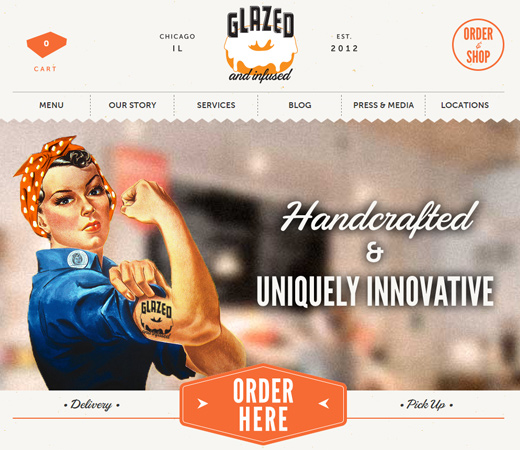 glazed and infused donuts company website