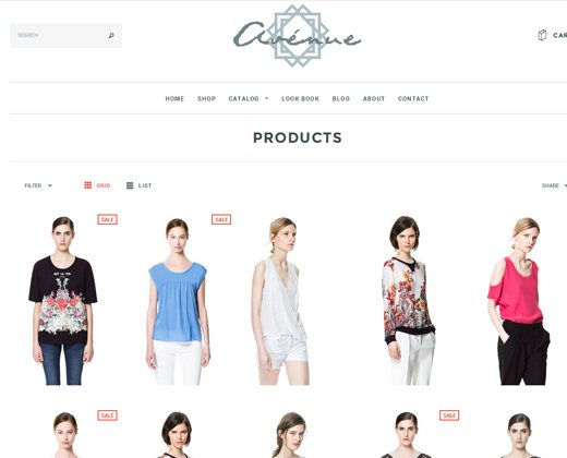 avenue responsive shopify premium theme design