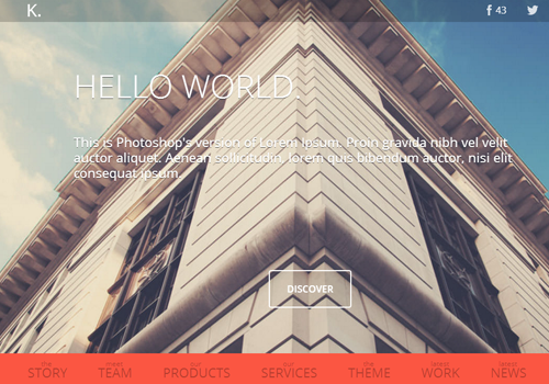 single page parallax wordpress theme premium
