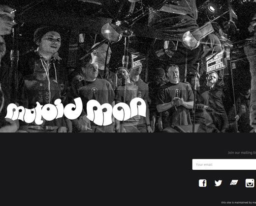 mutoid man band website