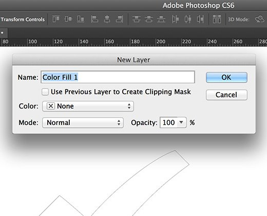 Convert a Path to a Shape Layer in Photoshop