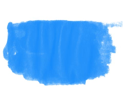 Ink smear brushes