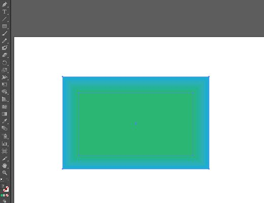 sample blended rectangles illustrator