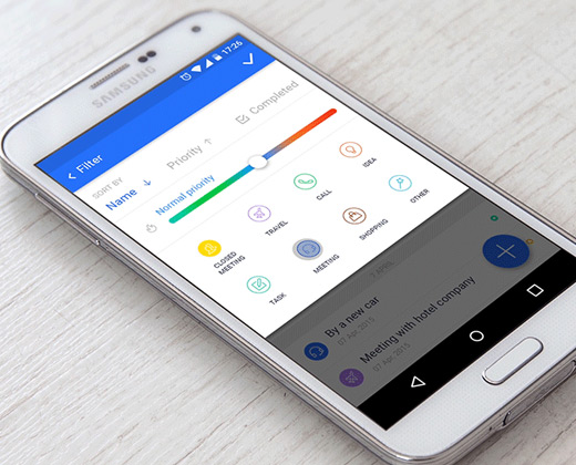 todo mobile app ui design