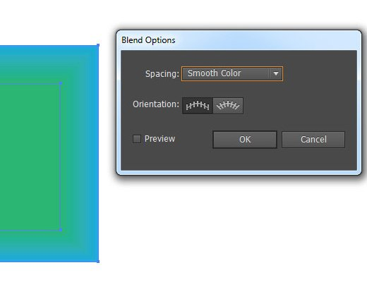 blend options illustrator