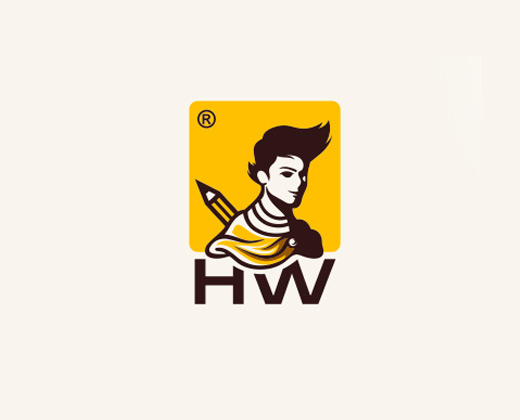 hw comics logo design