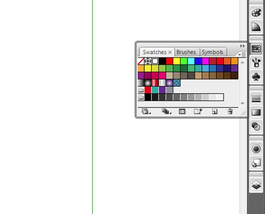 illustrator basic swatches panel