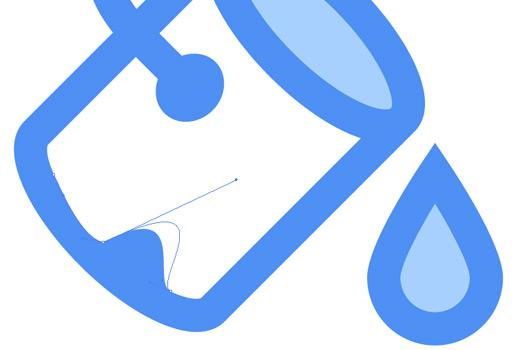 bezier illustrator handle tool