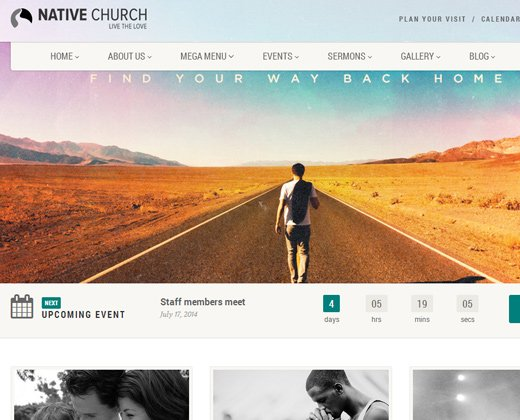 native church theme wordpress premium