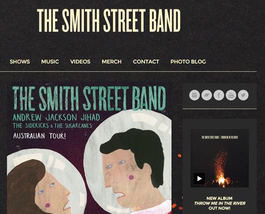 smith street band website