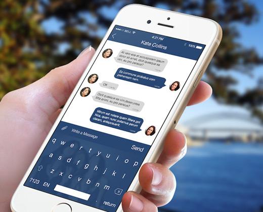 Chat apps iphone  25 Free Texting Chat Apps for iPhone  2019
