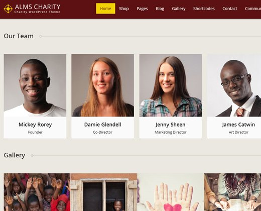 alms church ngo responsive wordpress premium