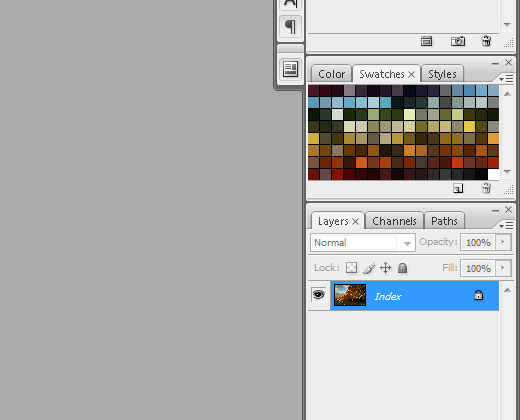 finished swatches palette photoshop preview