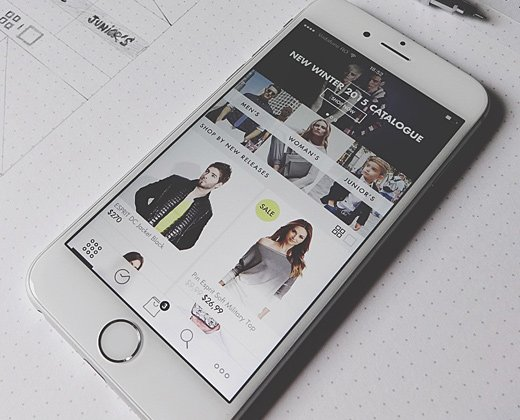 Fashion Store Mobile App