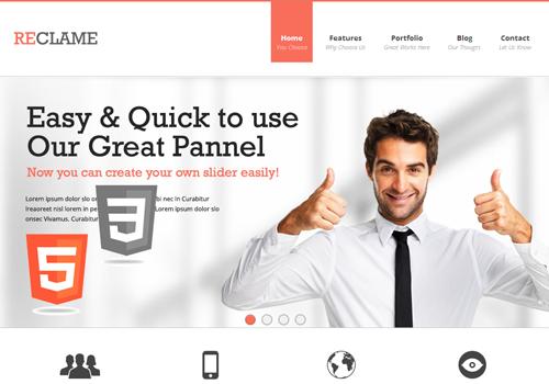 html5 wordpress premium theme template