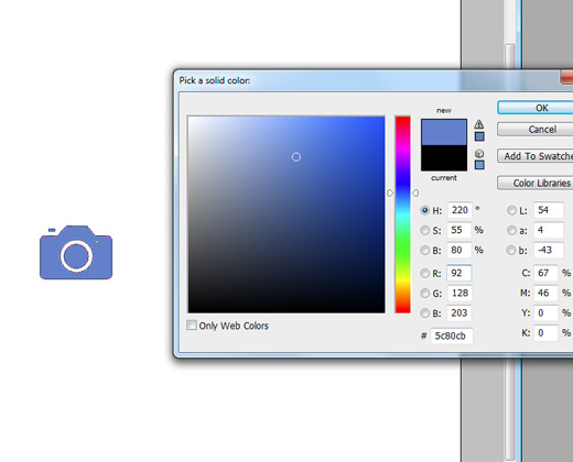 color shape picker new path camera