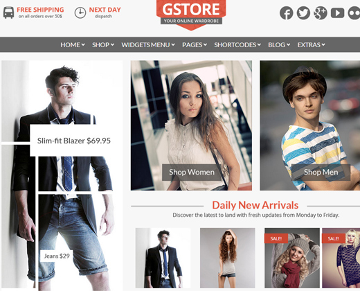 goodstore responsive wordpress woocommerce theme