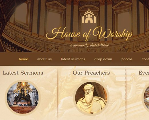 wordpress house of worship premium theme