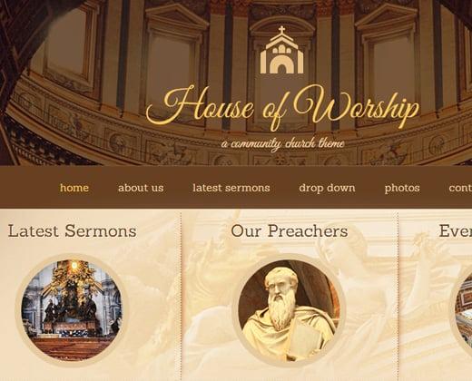 wordpress house of worship premium theme