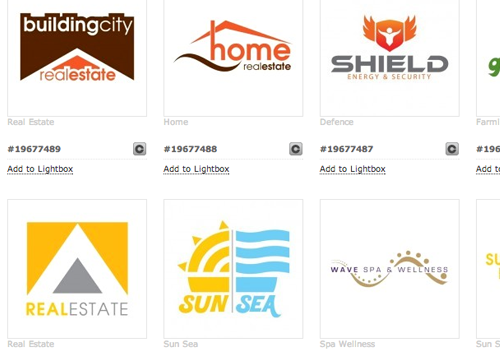 designs vector logo marketplace selling premium screenshot