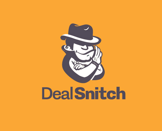 deal snitch illustration logo