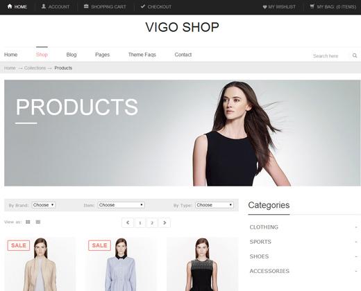 vigo shop premium shopify theme