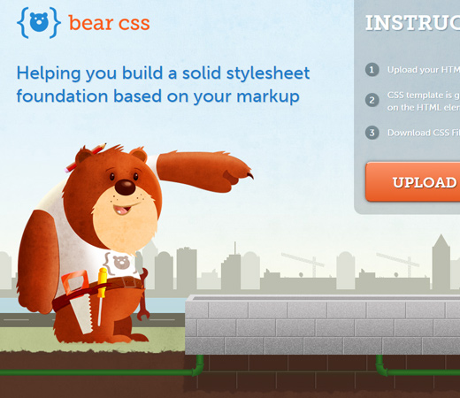 bear css vector design graphic