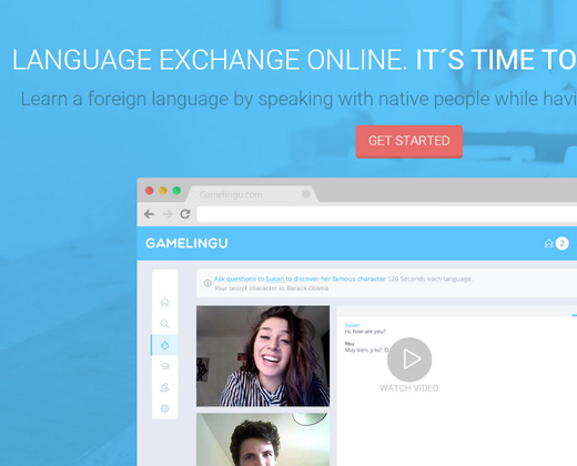 gamelingu language exchange startup