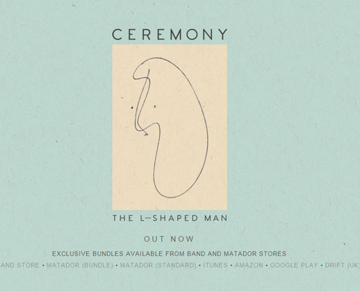 ceremony band homepage