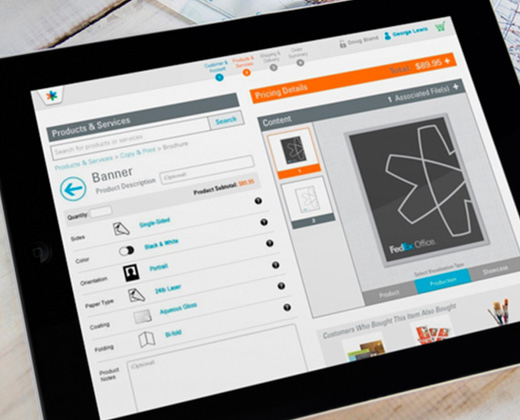 order entry app concept