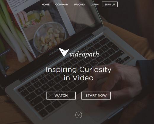 videopath startup design website