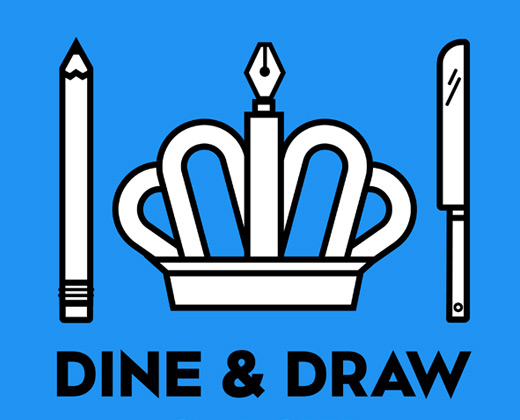 dine and draw charlotte