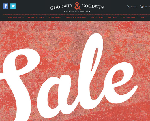 goodwin and goodwin shopify sales website