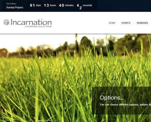 incarnation church community wordpress theme