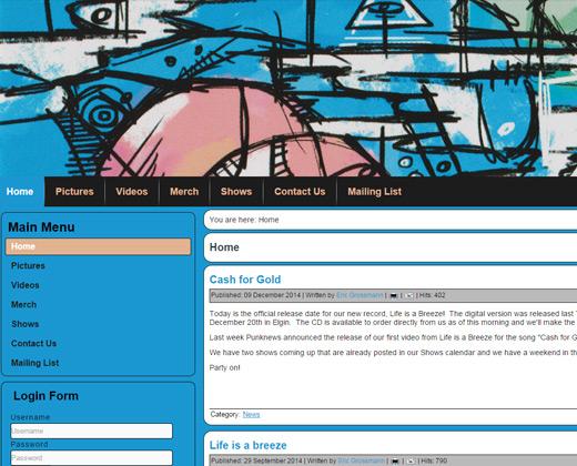 brokedowns band website