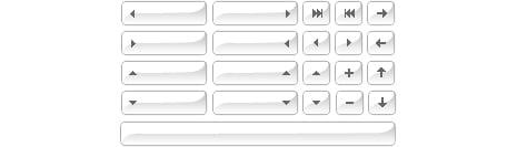 Free Button Images Part 1: Arrows - Glass