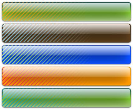 Free Vector Glass Bars - Diagonal Banding